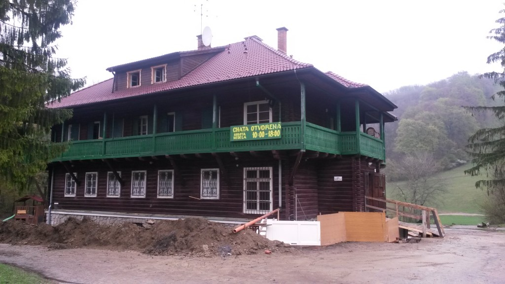 Soblahov – touristische Berghütte – Slowakei