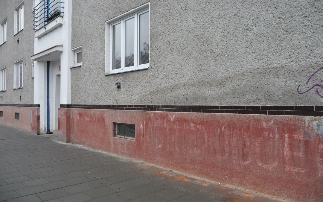 Rekonstrukce bytového domu v Olomouci