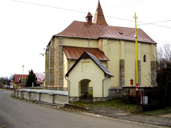 Římskokatolický kostel, Kvačany, Slovensko