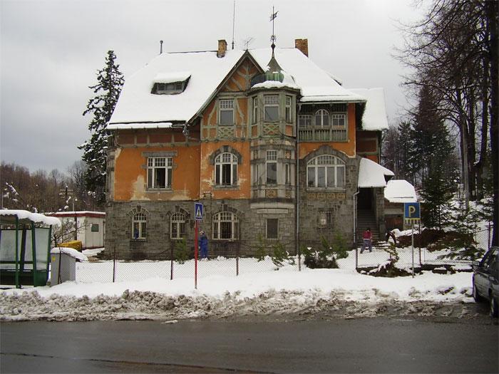 Reprezentační objekt firmy Stomix, Žulová